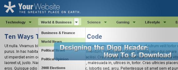 digg-header-drop-down-multi-level-menu-navigation
