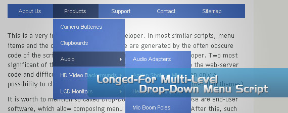 longed-jquery-drop-down-multi-level-menu-navigation