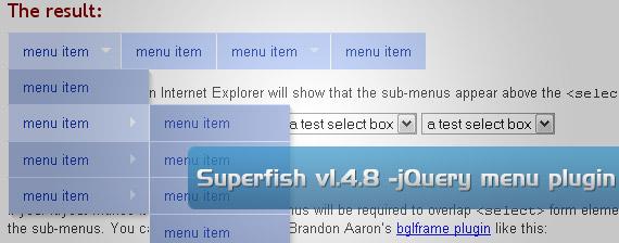 huong dan sub menu superfish