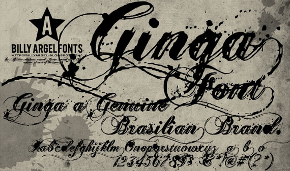 ginga-free-grunge-fonts