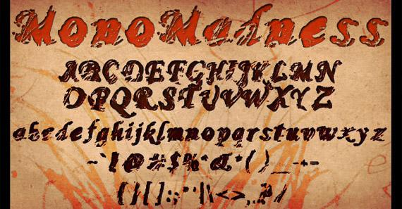mono-madness-free-grunge-fonts