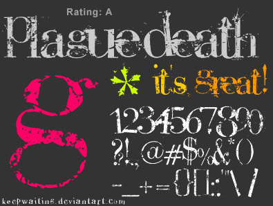plague-death-free-grunge-fonts