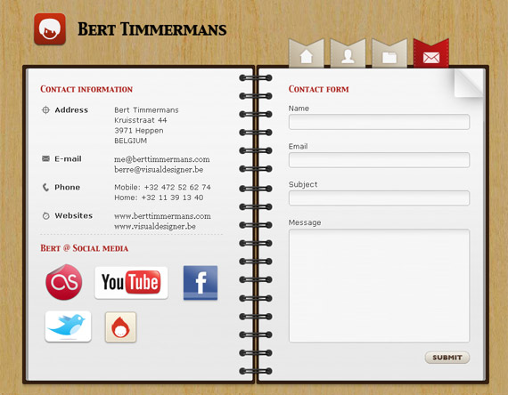bert-timmermans-inspiring-creative-contact-form