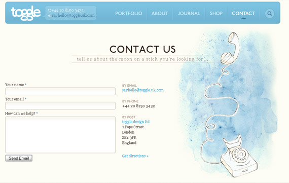 toogle-inspiring-creative-contact-form