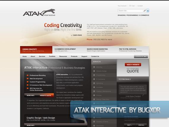 atak-creative-web-design-layout-inspiration