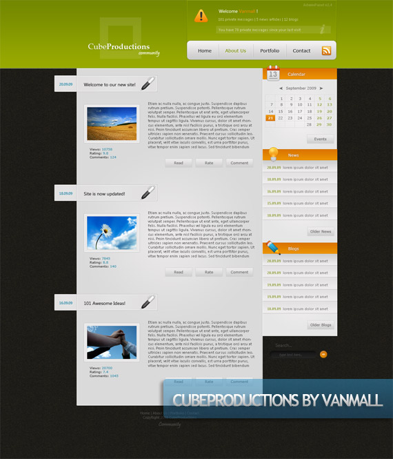 cube-productions-creative-web-design-layout-inspiration