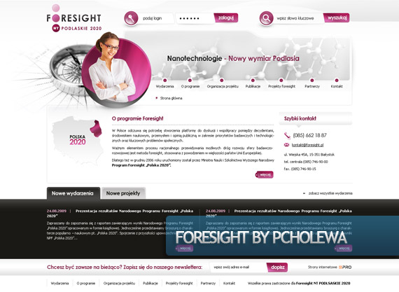 foresight-creative-web-design-layout-inspiration