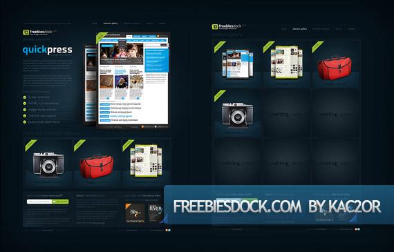 freebies-dock-creative-web-design-layout-inspiration