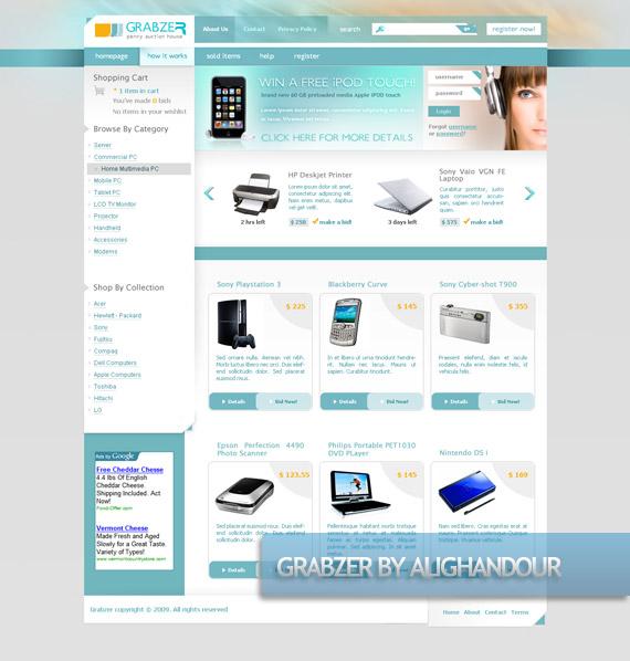 grabzer-creative-web-design-layout-inspiration