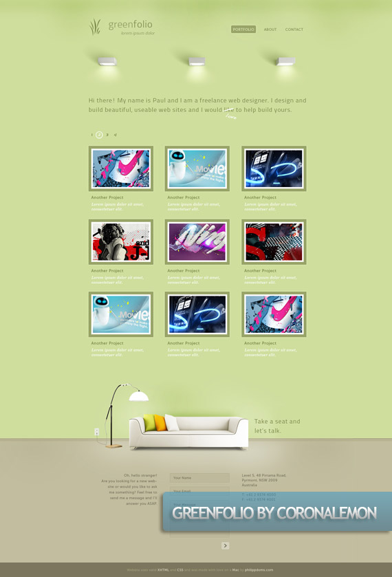 greenfolio-creative-web-design-layout-inspiration