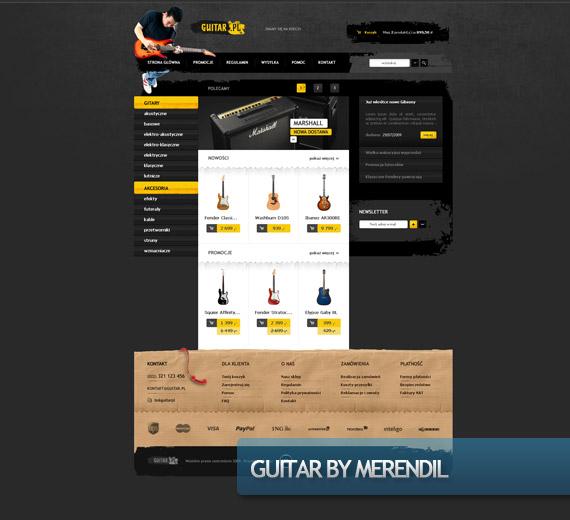 guitar-creative-web-design-layout-inspiration