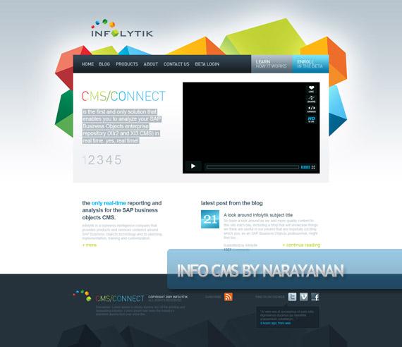 infocms-creative-web-design-layout-inspiration