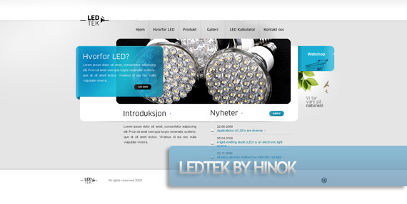 ledtek-creative-web-design-layout-inspiration