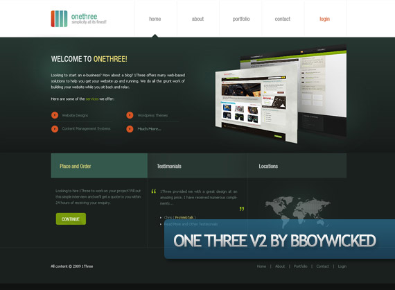 one-three-creative-web-design-layout-inspiration