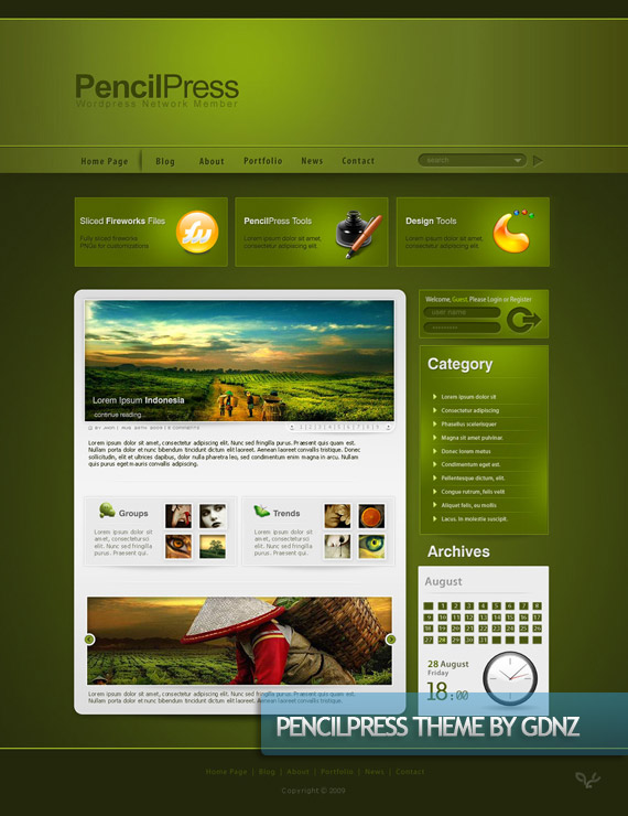 pencil-press-creative-web-design-layout-inspiration