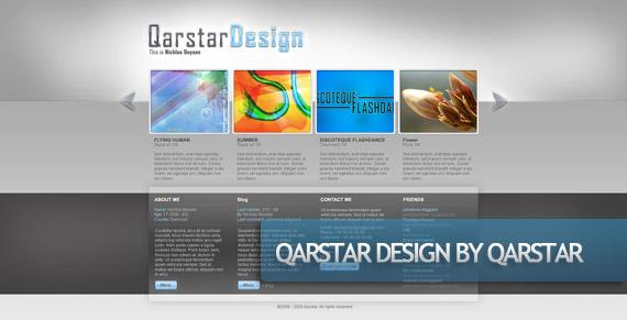 qarstar-creative-web-design-layout-inspiration