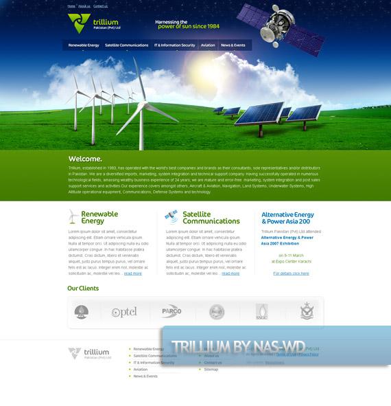 trillium-creative-web-design-layout-inspiration