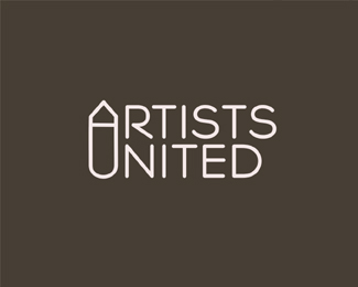 artists-united-typographic-logo-inspiration