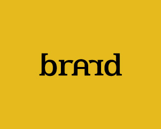 brand typographic logo inspiration