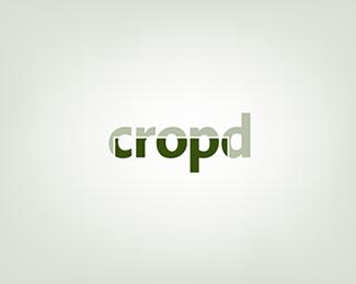 cropd typographic logo inspiration