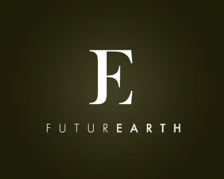 future-earth-typographic-logo-inspiration