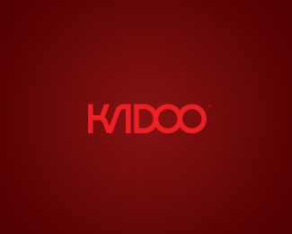 kadoo typographic logo inspiration