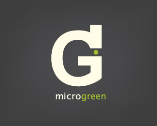 mircrogreen typographic logo inspiration