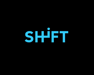 shift typographic logo inspiration - Graphic Design Logo Ideas