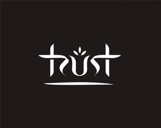 trust typographic logo inspiration