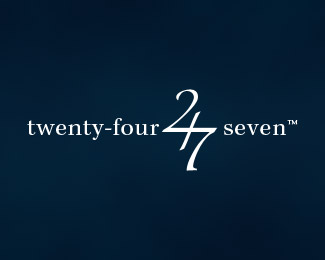 twenty-four-seven-typographic-logo-inspiration
