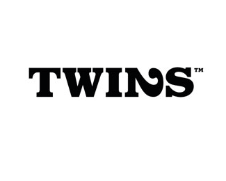 twins typographic logo inspiration