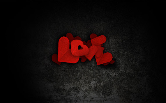 love-high-res-typography-wallpaper