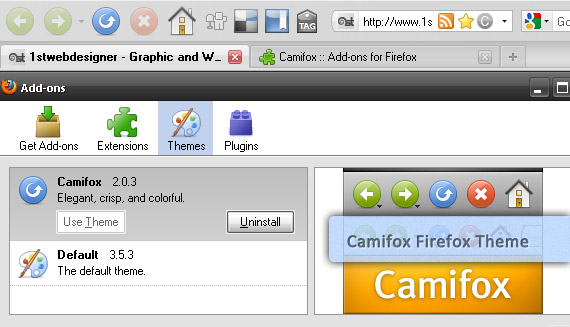 camifox-free-popular-firefox-3-5-theme