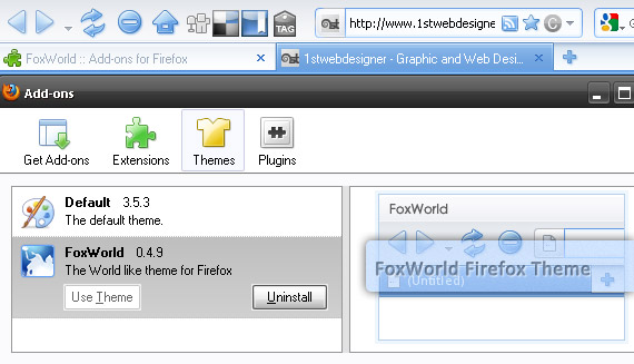 fox-world-free-popular-firefox-3-5-theme