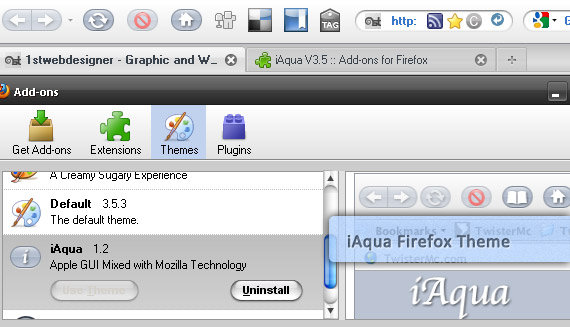 iaqua-free-popular-firefox-3-5-theme