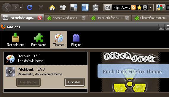 pitch-dark-free-popular-firefox-3-5-theme