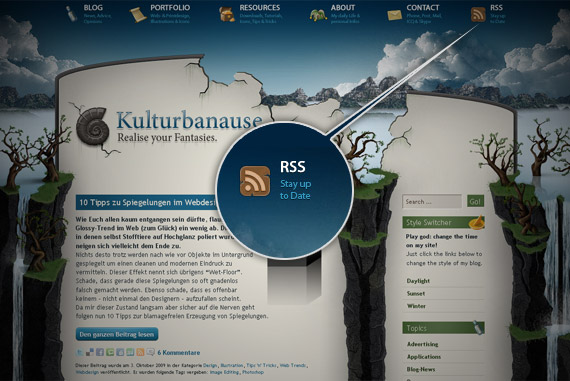 kulrur-banause-rss-icon-inspiration-website