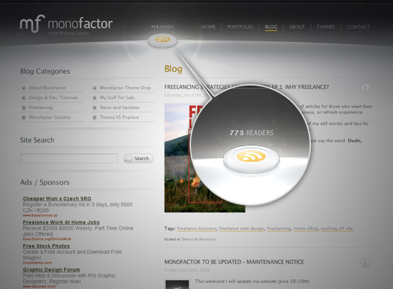 monofactor-rss-icon-inspiration-website