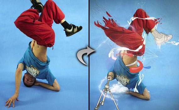 Line Art Effect Photoshop Tutorial : 20 amazing photo manipulation effects tutorials for adobe photoshop
