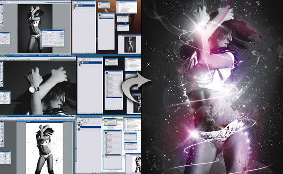 sparkle-woman-photo-effect-montage-photoshop-tutorial