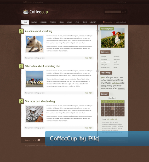 60个设计非凡的网页界面 - Ha`HeNgrY`Ppy - HeNgrYs Blog