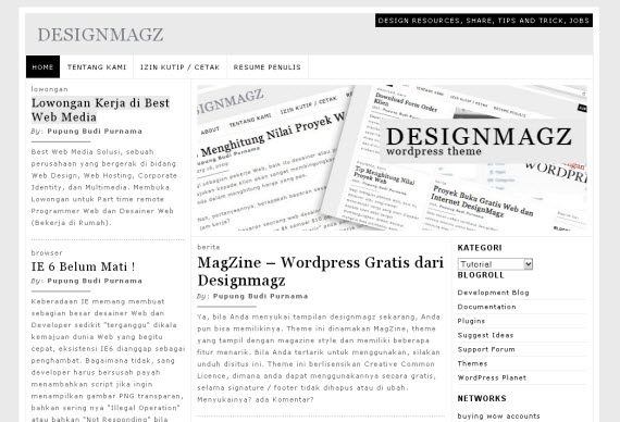 designmagz-minimalist-typography-wordpress-theme