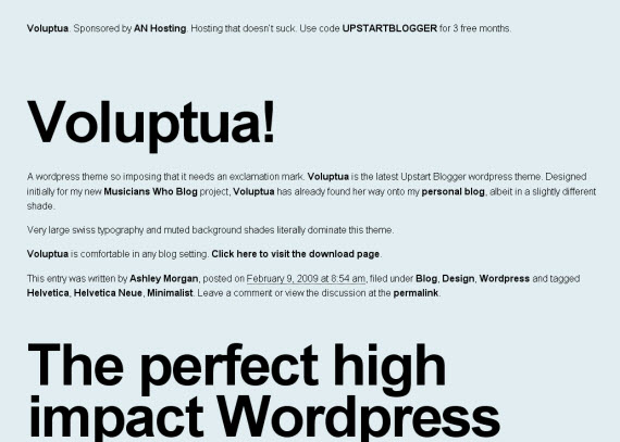 enormous-minimalist-typography-wordpress-theme
