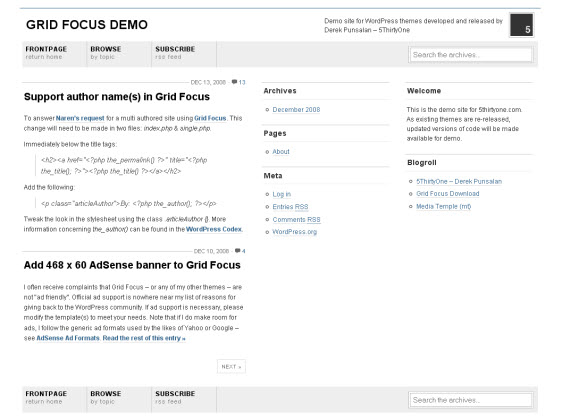 grid-focus-minimalist-typography-wordpress-theme