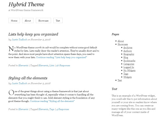 43 Minimal And Really Clean Free WordPress Themes