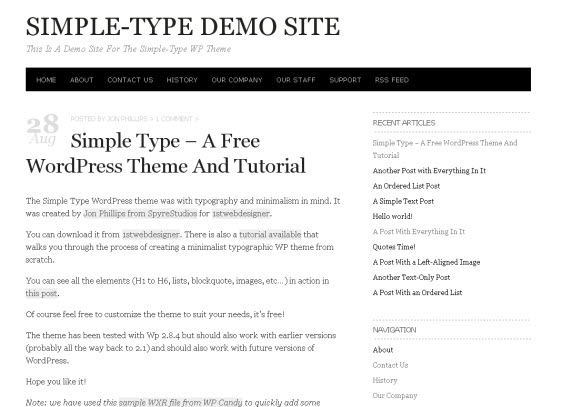 simple-type-minimalist-typography-wordpress-theme