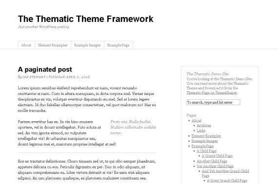 thematic-minimalist-typography-wordpress-theme