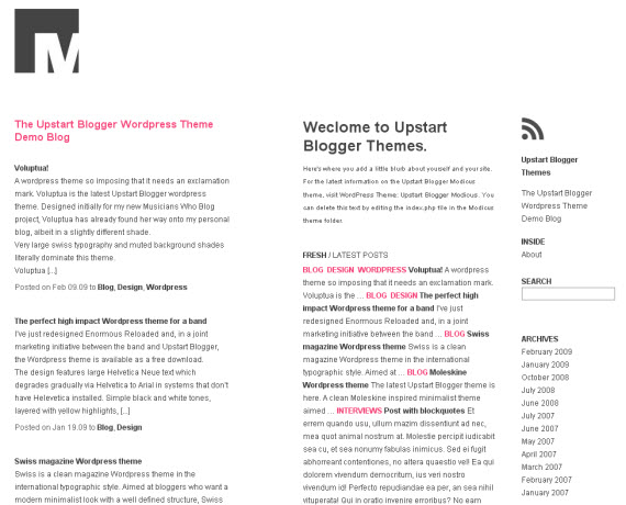 upstart-blogger-minimalist-typography-wordpress-theme