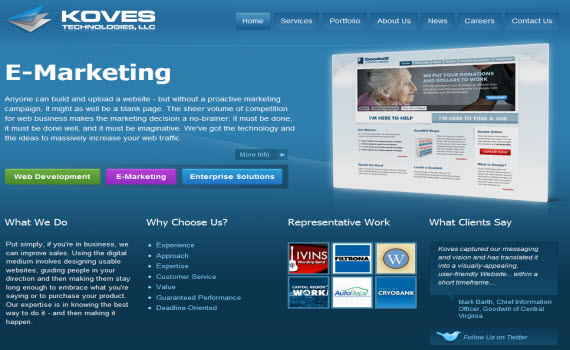 koves-fresh-corporate-web-design-inspiration
