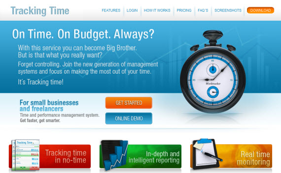 tracking-time-fresh-corporate-web-design-inspiration